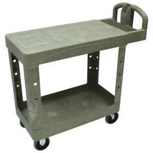 Utility Cart 750 Lb Load Cap Rubbermaid Fg454500beig