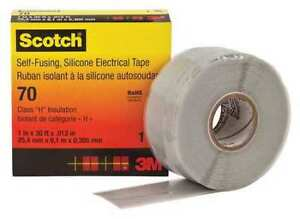 Electrical Tape 12 Mil 1 X 30 Ft Gray