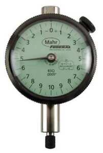 Dial Indicator 0 To 0 050 In 0 10 0 Mahr federal Inc B3q