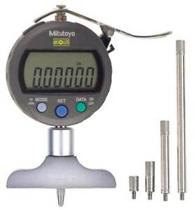 Electronic Digital Depth Gage 0 To 8 In Mitutoyo 547 217s