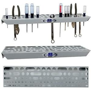 Rb Components Aluminum Hand Tool Organizer Tray For Garage Or Trailer 2215