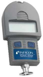 Inficon 710 202 g27 Micron Gauge With Case lcd