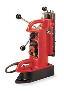 Electromagnetic Drill Press Base Fixed Position 12 5 amp Milwaukee 4202