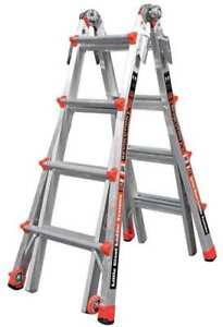 Little Giant 12017 Multipurpose Ladder 15 Ft ia aluminum