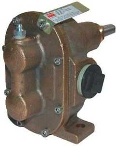 Rotary Gear Pump Head 3 8 In 1 3 Hp Dayton 4khg6