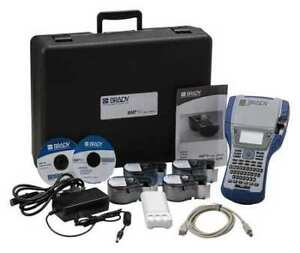Portable Label Printer Kit bmp41 Brady Bmp41 kit vd