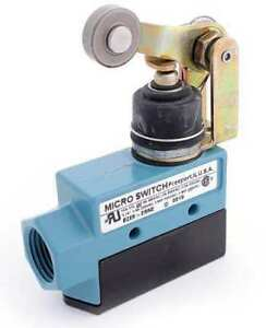 Honeywell Micro Switch Dte6 2rn2 Bz 2nc 2no Dpdt Limit Switch Horizontal Roller