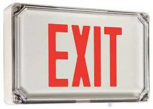 Hubbell Lighting Duallite Led Exit Sign Hubbell Lighting Dual lite Sewlsrwe