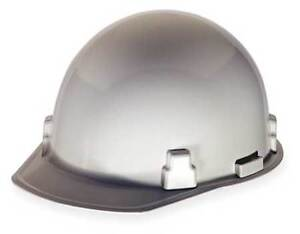 Msa 486960 Hard Hat frtbrim slotted rtcht white