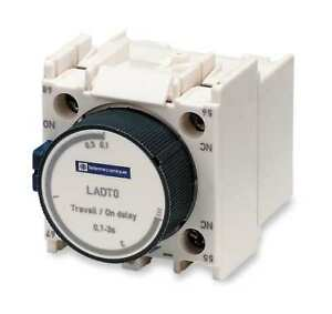 Iec Timer Module 1no 1nc 10 To 180sec Schneider Electric Ladt4
