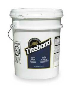 Wood Glue interior 5 Gal white Titebond 5027