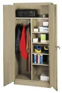 Combination Storage Cabinet 72x36 sand Zoro Select 1ufa5