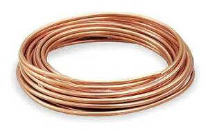 3 8 Od X 60 Ft Coil Copper Tubing Type L Mueller Industries 616f