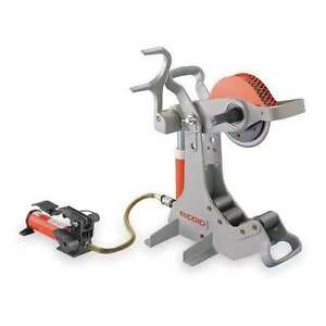 Portable Electric Pipe Cutter Pipe 2 1 2 To 8 Capacity 50767 Ridgid