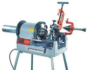 Rothenberger 63006 Pipe Threading Machine 1 2 To 4 In