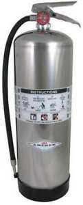 Amerex 240 Fire Extinguisher 2a Water 2 1 2 Gal