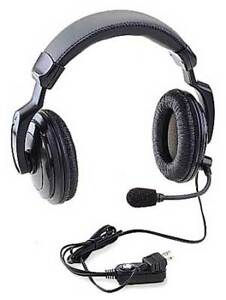 Ritron Rhd 4x Headset over The Head over Ear black