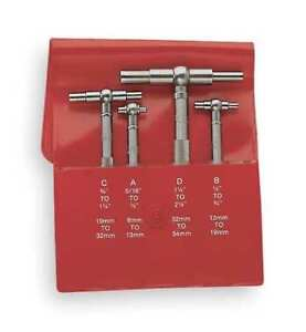 Telescoping Gage Set Starrett S579gz