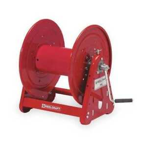 Hand Crank Cable Storage Reel 850 Ft Capacity 16 3 Reelcraft Ca30112 cs