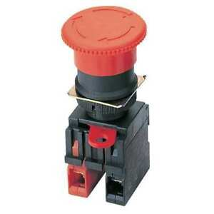 E stop Push Button 22mm 2nc red