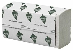Tough Guy White Paper Towels Multifold 16 Pack 250 Sheets Pack 38c404