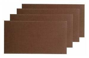 Pegboard Brown tempered Wood Pegboard Tpb 4br