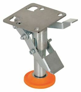 Vestil Fl lkl 4 Floor Lock Foot Pedal Plate 4 3 4 In H