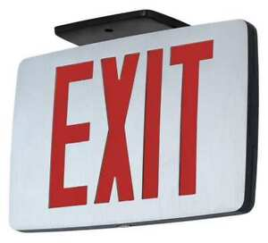Hubbell Lighting Compass Led Exit Sign Battery Backup Ccedre