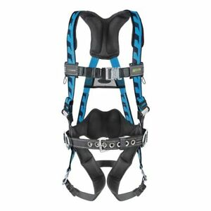 Blue Full Body Harness Ac qc bdp s mbl Miller By Honeywell