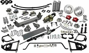 1949 54 Chevy 1 2 Ton Truck Ultimate Performance Package Mustang Ii Ifs Kit