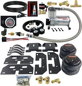 Airmaxxx Tow Assist Kit W On Board Air Management 2014 2018 Dodge Ram 3500 1 2