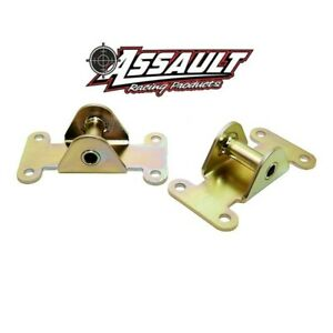 Sbc Small Block Chevy Solid Engine Frame Mount Set 327 350 400 Off Road Racing