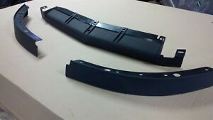1991 1996 Corvette C4 Front Air Dam Spoiler 3 Piece Set New
