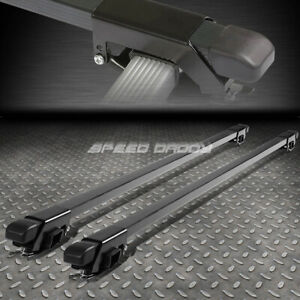 54 Aluminum Roof Rack Car Suv Top Crossbar Luggage Bag Cargo Square Bar Rail