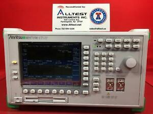 Anritsu Ms9715m 1 Optical Spectrum Analyzer 1460 To 1650nm