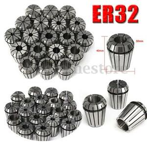19pcs Er32 Spring Collets Set 2 20mm Er32 Collet For Cnc Engraving Machine