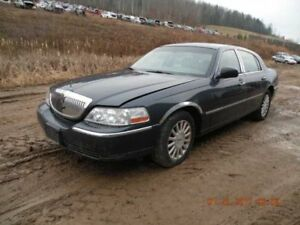 03 04 Lincoln Town Car Front Windshield Wiper Transmission Linkage