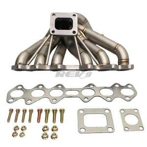 Type 2 Hp series Supra 2jzgte Equal Length T4 Turbo Manifold