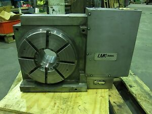Matsumoto 12 Big Bore Cnc Fourth Axis Rotary Table 4 1 2 Hole Fanuc Motor