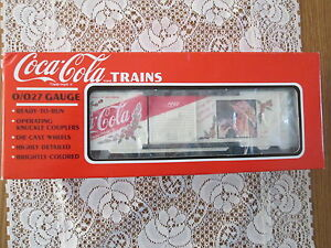 Coca-Cola Trains K-Line K6471 Box Car Coke 1992 - BRAND NEW