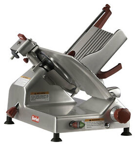 Berkel 827a plus 12 1 2 Hp Manual Gravity Feed Economy Series Slicer