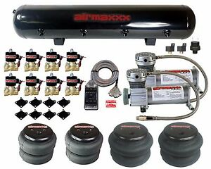 Air Compressors 400 Pewter 1 2 Npt Valves 2500 2600 Air Bags Clear 7 Switch