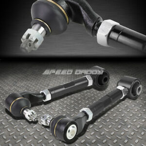 For 03 07 Accord tsx Uc1 Black Adjustable Ball Joint Rear Suspension Camber Kit
