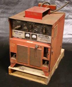 Lincoln Idealarc Mig Welder 3 Phase R3s 250 Dc Power Source