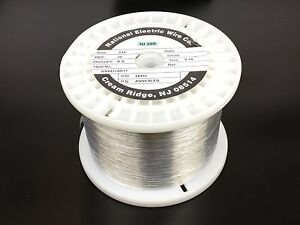 Pure Nickel Wire 30 Gauge 8 69 Lb 28 833 Ft Non Resistance Awg Ni200 Nickel 200
