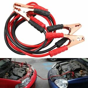 Emergency Jumper Cables Car Truck Battery Copper Jumper Auto Booster Jump Start