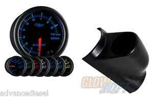 2003 2007 Ford Super Duty Glowshift Black 7 Color 2 Tachometer Gauge