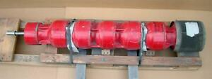 Peerless Vertical Turbine Centrifugal Fire Pump 1000gpm 5 Stage 8 56x8 56 12mbf