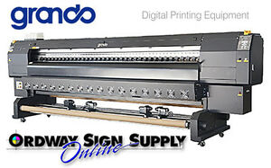 Demo Grando Alpha 126 10 5 Feet Wide Eco solvent Printer Plus 1 Year Warranty