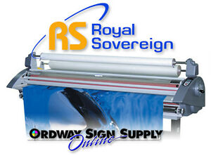 Royal Sovereign 55 Cold Laminator Rsc 1402cw